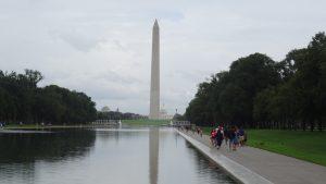 Wandeling langs de Memorial's